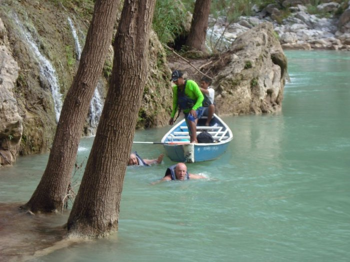 Cascadas de Tamul, Barragans Rettung
