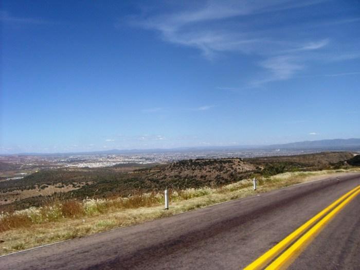 Endlose Weite, Hochland um Durango