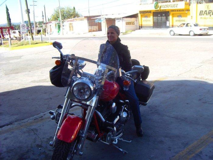 la Irma und die Harley