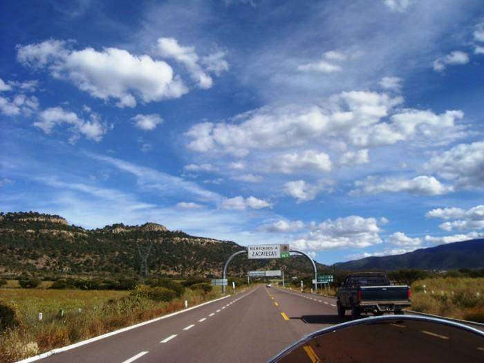 Richtung Zacatecas