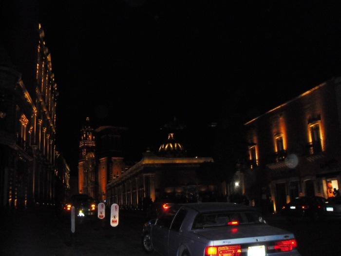 Zacatecas, Zentrum, bei Nacht