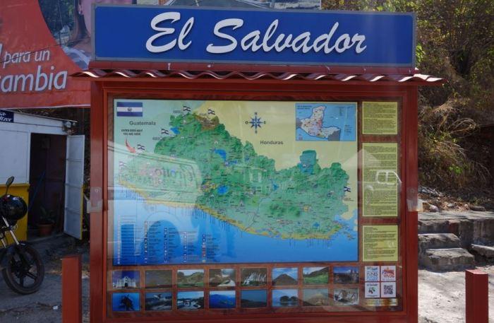 Ankunft in El Salvador