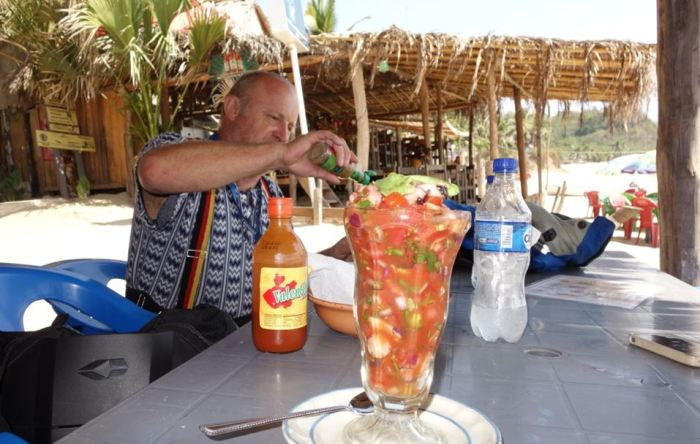 Cocktail in Mazunte