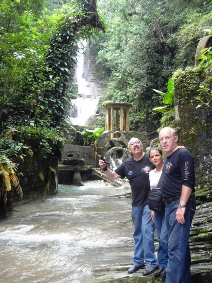 Las Pozas de Xilitla, Wasserspiel