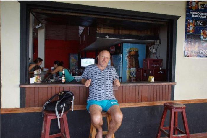 Costa Rica 14 Puerto Viejo Strandbar