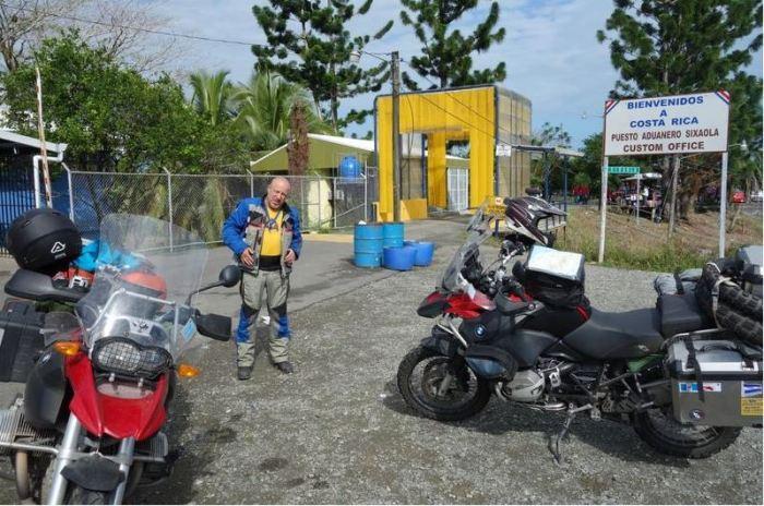 Costa Rica 17 Grenzstation Sixaola Panama
