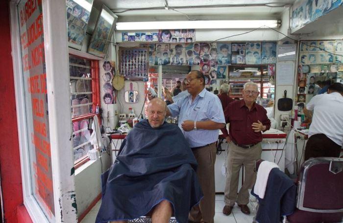 Costa Rica - der Barbier von San José