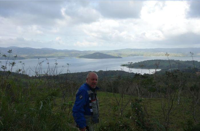 Costa Rica, Laguna Nuevo Arenal