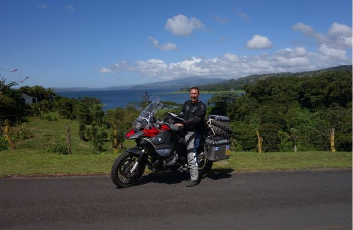 Costa Rica - Laguna und Vulkan Nuevo Arenal