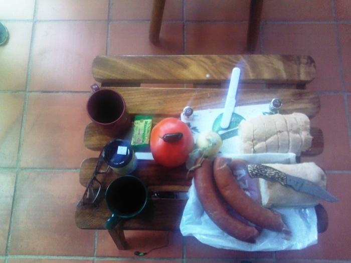 Frühstück in Costa Rica