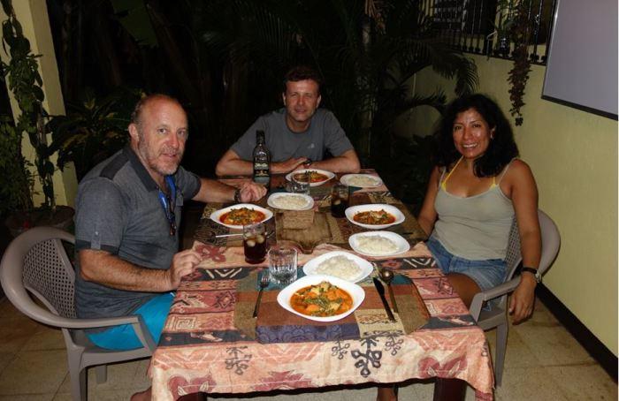 NIc 4 Curry-Huhn bei Eli und Jürgen