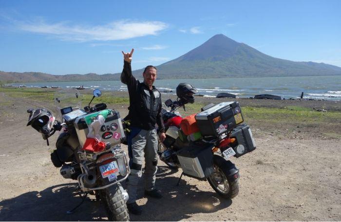 Nic 6 Managua See und Vulkan Momotombo