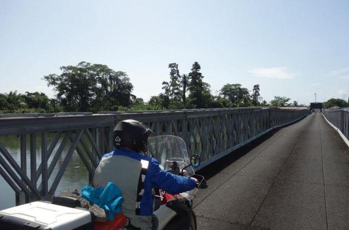 Panama 1 Grenzübergang