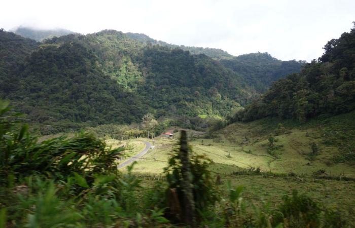 Panama 18 Berglandschaft Boquete