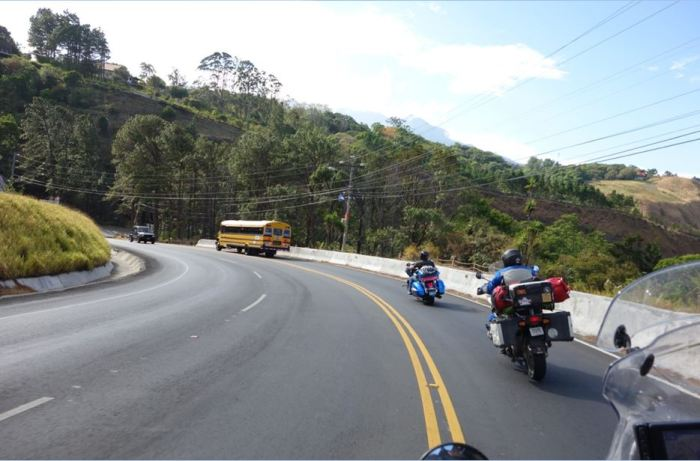 Panama 3 Richtung Boquete