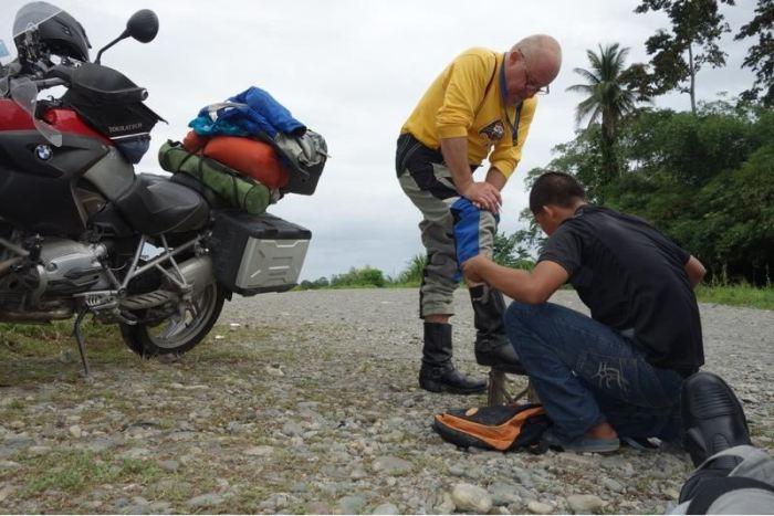 Panama 4 der Schuhputzer