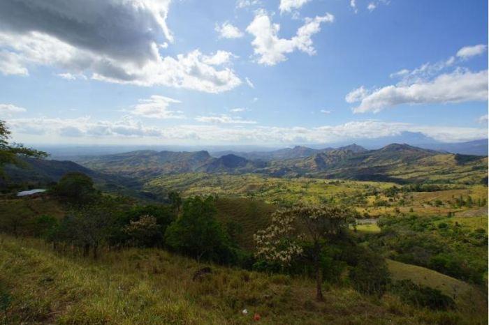 Panama 8 Sierra-Landschaft