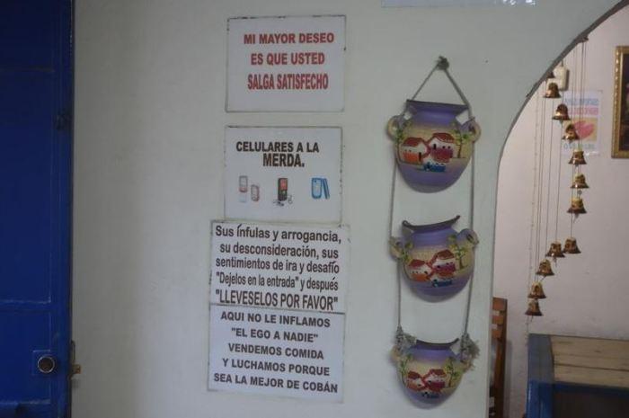 Guatemala, Restaurant D'fiora, Cobán
