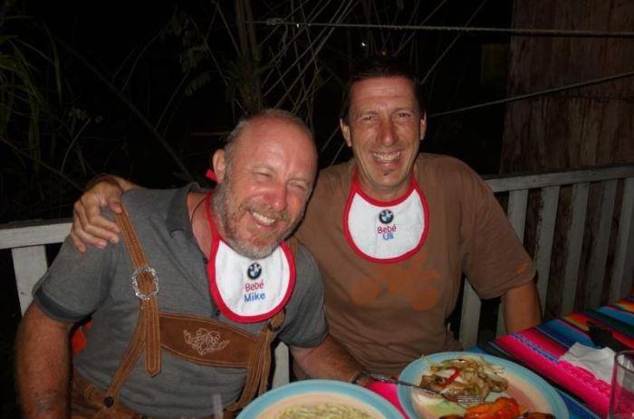 Mike und Uli BMW-Babies