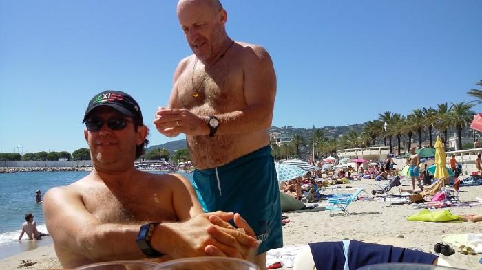 Chillen an der franz. Riviera