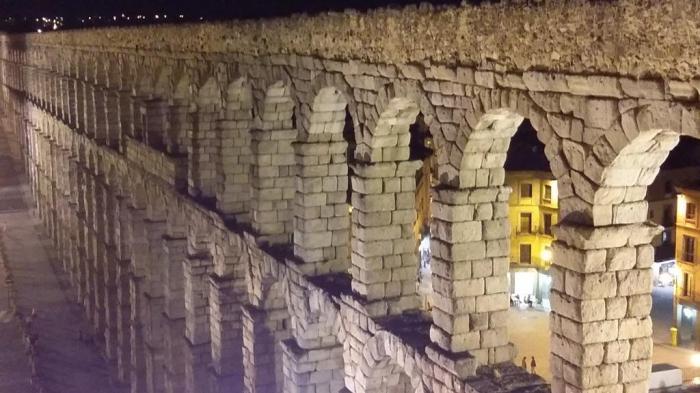 Der Aquädukt von Segovia