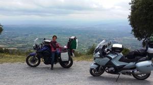 Strecke Segovia- Laguardia