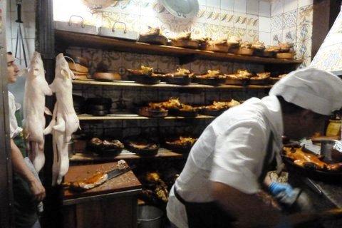 Restaurant Botín, Madrid, cochinillos asados