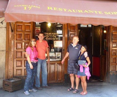 Restaurant Botín, Madrid, das älteste Restaurant der Welt