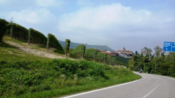 Richtung Asti