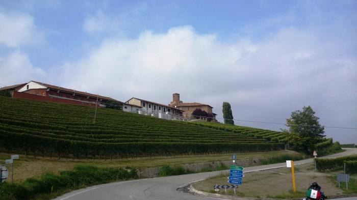 Weingegend Asti