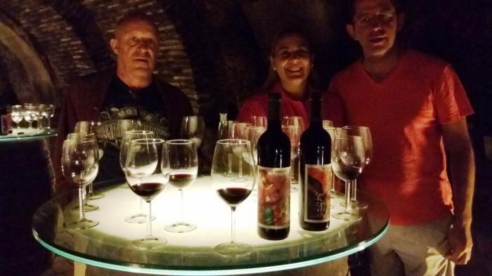 Weinprobe in der Bodega