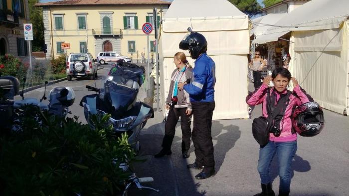 Abfahrt nach Pisa