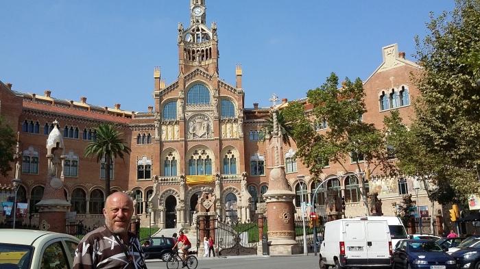 Barcelona - früher Krankenhaus, heute Kulturstätte