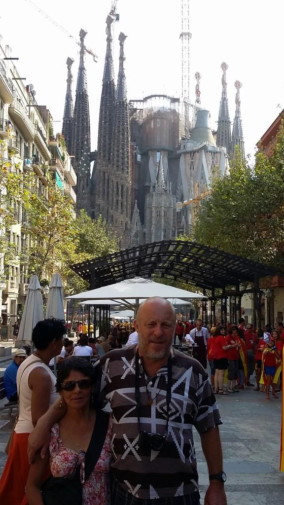 Barcelona - Kathedrale Sagrada Familia