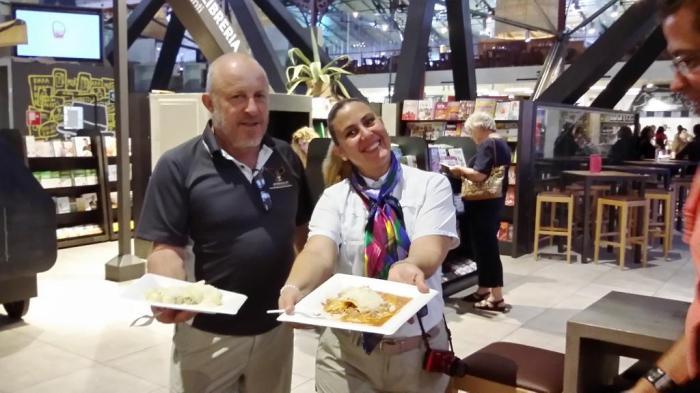 Calamari und Pasta