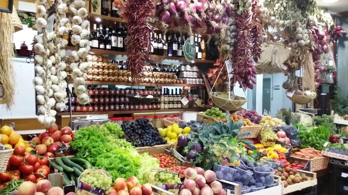Florenz Zentral-Markt