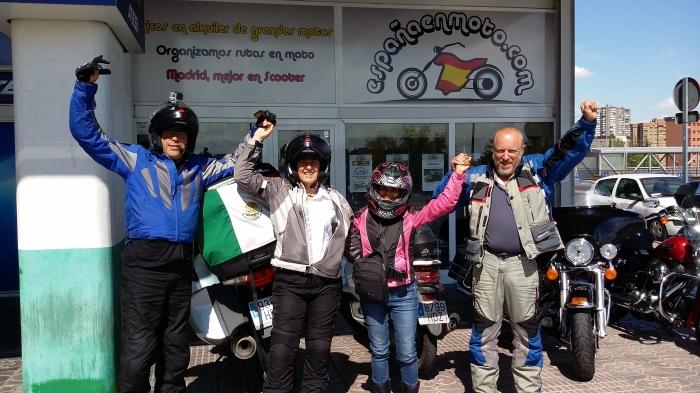 Madrid, Rückkehr zu España en Moto