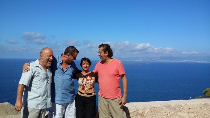 mit Berthold auf Mallorca