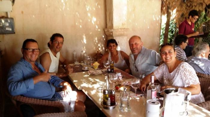 mit Berthold im Restaurant 1
