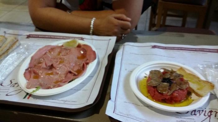 Roastbeef und Tartar