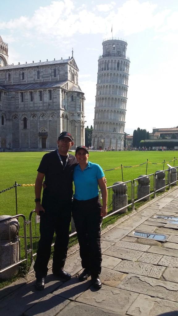 Tere und Elias, Pisa