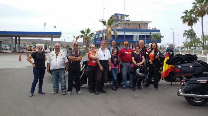 Ankunft im Hafen von La Paz