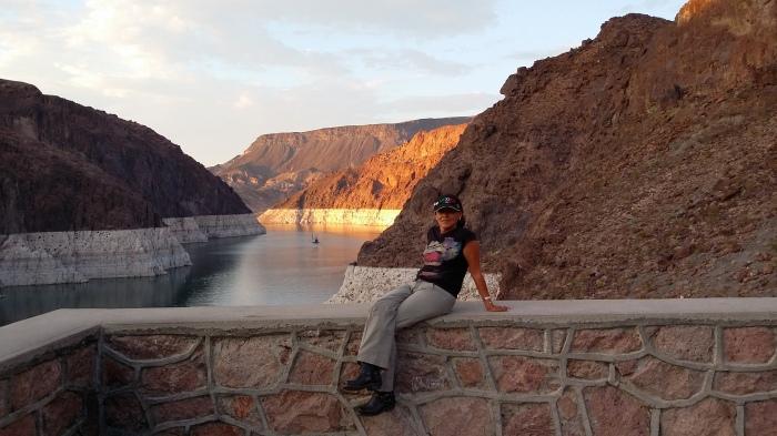 Hoover Damm Sonnenuntergang