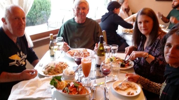 Im Thai-Restaurant mit Frank und Gisela