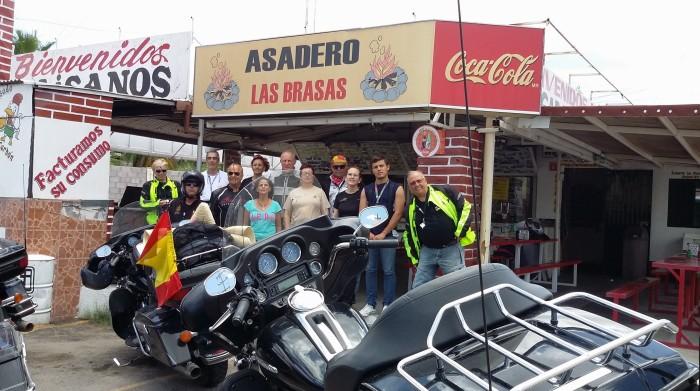 letztes mexikanisches Lunch vor der Grenze
