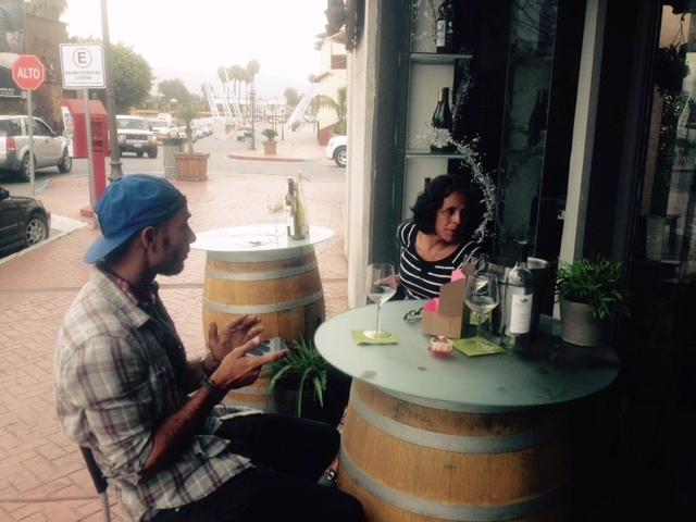 Relaxen mit einem Fläschen Weisswein aus den Valle Guadalupe