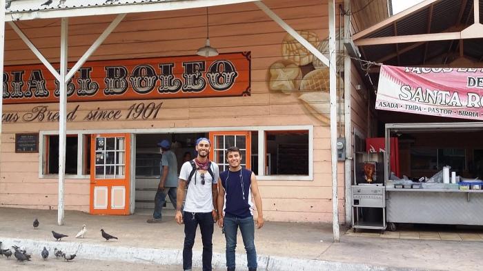 Santa Rosalia, Bäckerei, Olo und Hugo