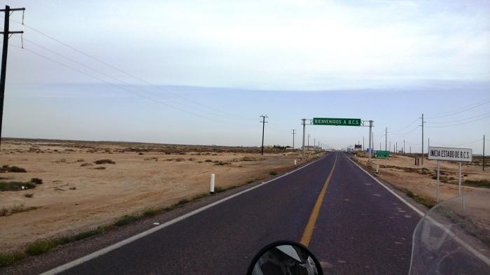 wir kommen in die Südhälfte der Baja
