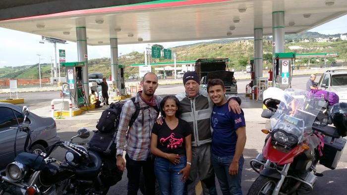 Abschied von Hugo und Olo in Tepic